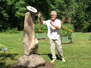 Sculptor Carl Peverall Lifts Off the Ground with Evolution