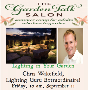 Lighting Your Garden with Guru Chris Wakefield