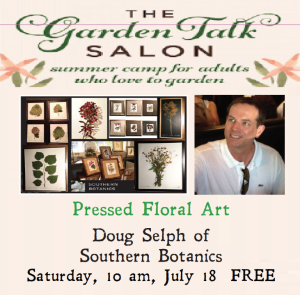 Join us in the Joy Garden Tour this weekend with Southern Botanic's Doug Selph